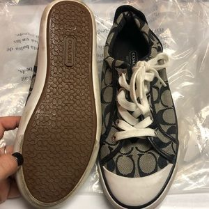 Coach Sneakers Size 8 like new
